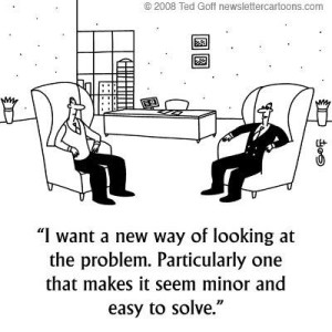A new way of looking at problems